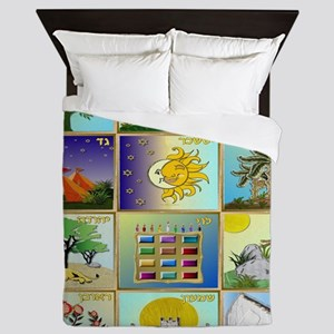12 Tribes Of Israel Queen Duvet
