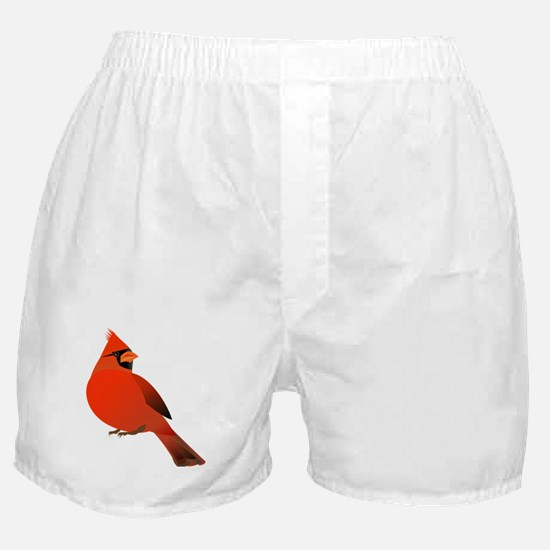 Red Cardinal Boxer Shorts