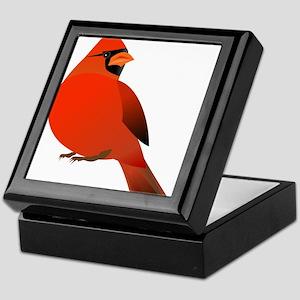 Red Cardinal Keepsake Box