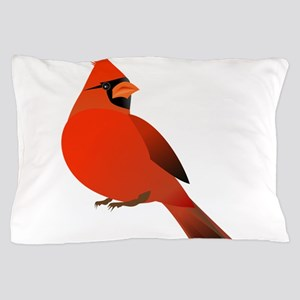 Red Cardinal Pillow Case