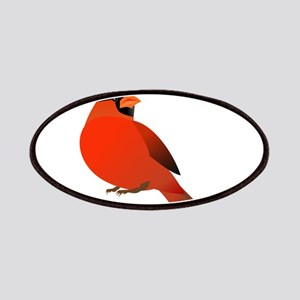 Red Cardinal Patch