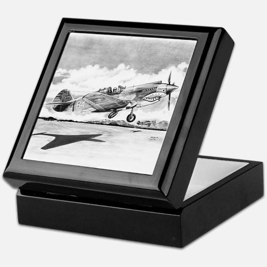 P-40 Keepsake Box