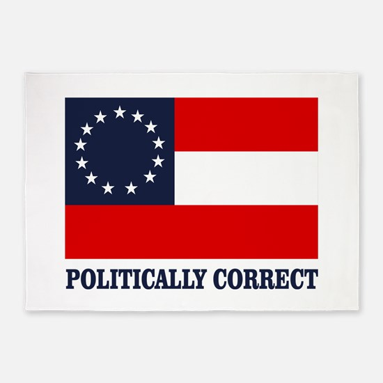 CSA 1st Nat Politically Correct 5'x7'Area Rug