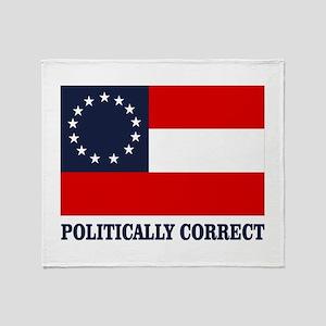 CSA 1st Nat Politically Correct Throw Blanket