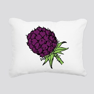 Blackberry Rectangular Canvas Pillow