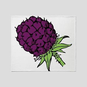 Blackberry Throw Blanket