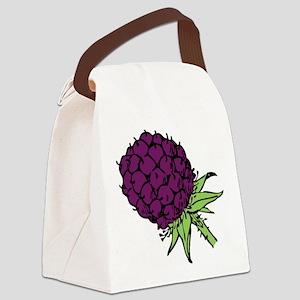 Blackberry Canvas Lunch Bag