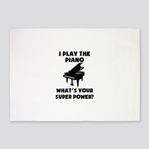 I Play The Piano Whats Your Super Power? 5'x7'Area