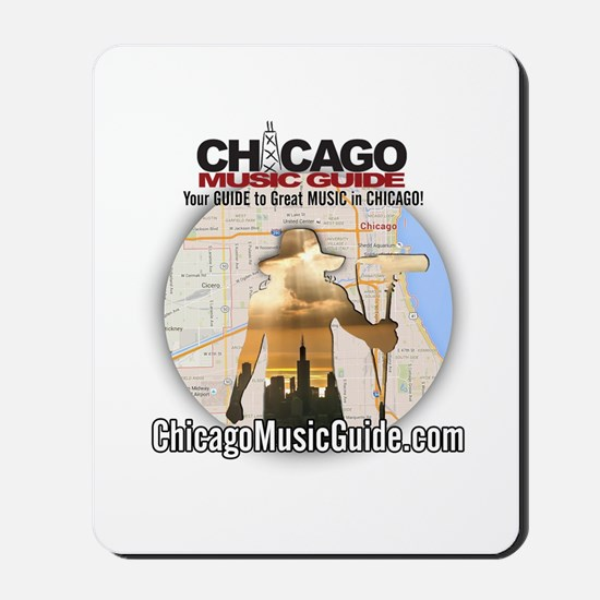 13-Monsters/Chicago Music Guide Design 0 Mousepad
