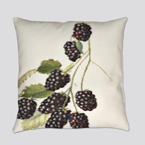 Blackberries Everyday Pillow