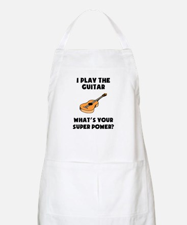 I Play The Guitar Whats Your Super Power? Apron