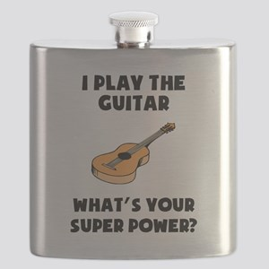 I Play The Guitar Whats Your Super Power? Flask