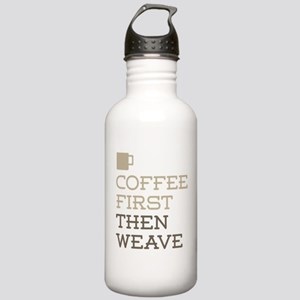Coffee Then Weave Stainless Water Bottle 1.0L
