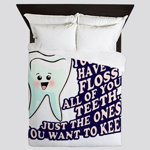 Dentist Dental Hygienist Queen Duvet
