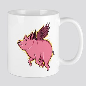 Flying Pig Mugs