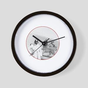 Brown Condor & Lion of Judah on Ethiopi Wall Clock