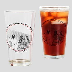 Brown Condor & Lion of Judah on Eth Drinking Glass