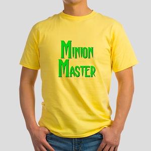Minion Master Yellow T-Shirt