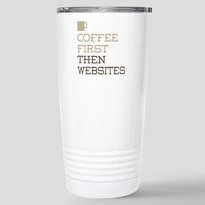 Coffee Then Websites Stainless Steel Travel Mug