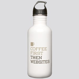 Coffee Then Websites Stainless Water Bottle 1.0L