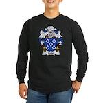 Gois Family Crest Long Sleeve Dark T-Shirt