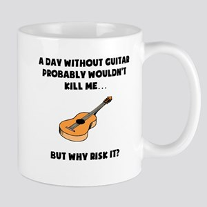 A Day Without Guitar Mugs