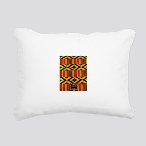 kente Rectangular Canvas Pillow