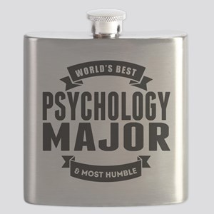 Worlds Best And Most Humble Psychology Major Flask