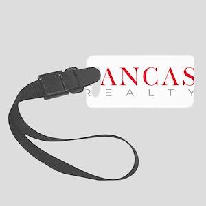 SANCAS Realty Logo Preferred Luggage Tag
