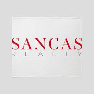 SANCAS Realty Logo Preferred Throw Blanket