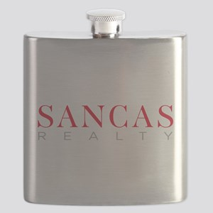 SANCAS Realty Logo Preferred Flask