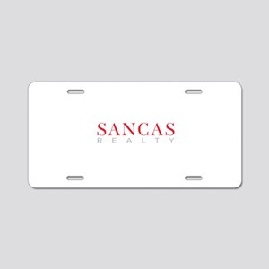 SANCAS Realty Preferred Logo Aluminum License Plat