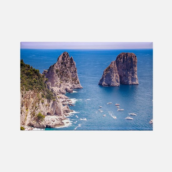 Capri Faraglioni Rocks Magnets