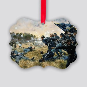 War Between Brothers Picture Ornament
