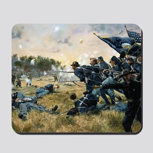 War Between Brothers Mousepad