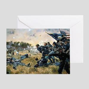 War Between Brothers Greeting Card