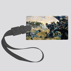 War Between Brothers Large Luggage Tag