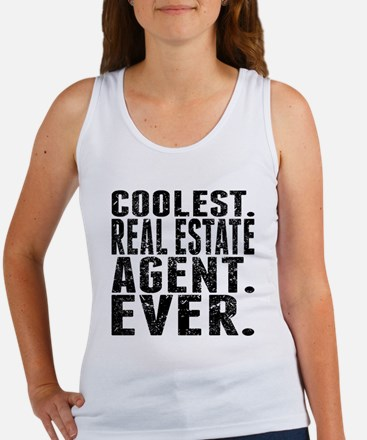 Coolest. Real Estate Agent. Ever. Tank Top