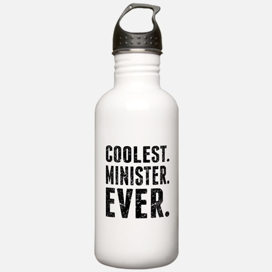 Coolest. Minister. Ever. Water Bottle