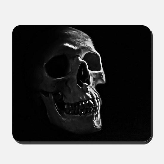 Human Skull Mousepad