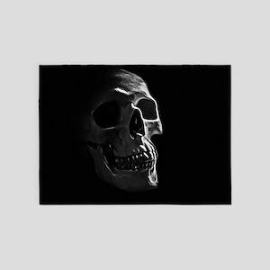 Human Skull 5'x7'Area Rug