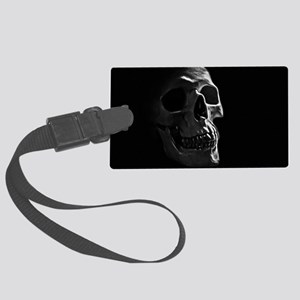 Human Skull Large Luggage Tag