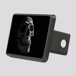 Human Skull Rectangular Hitch Cover