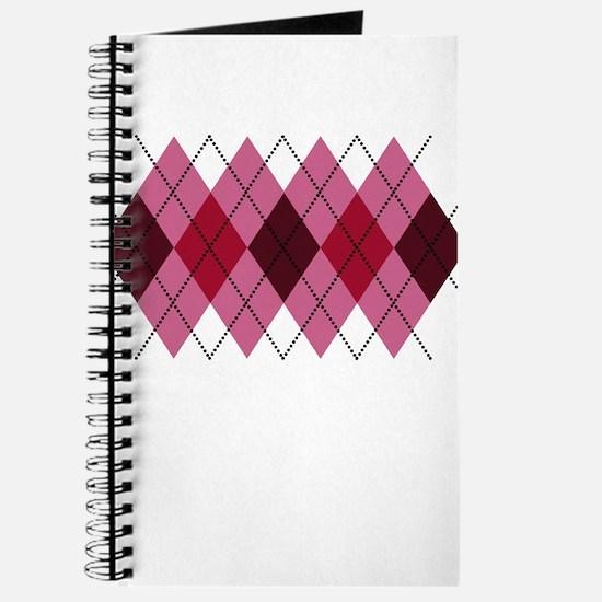 Pink Argyle Journal