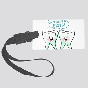 Dentist Dental Hygienist Large Luggage Tag