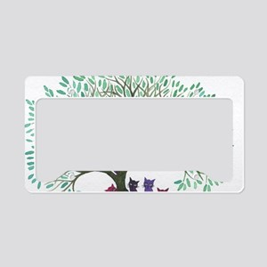Challis Stray Cats License Plate Holder