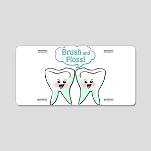 Dentist Dental Hygienist Aluminum License Plate