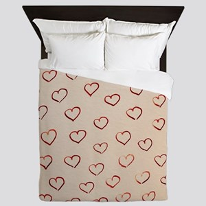 Hearts Queen Duvet