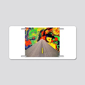 Camino Acid Aluminum License Plate