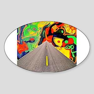 Camino Acid Sticker (Oval)